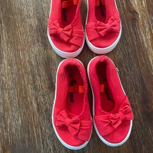 Mary Jane sneakers with bow